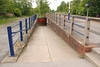 Instead of a footbridge like most Ghost Stations have Pontefract Baghill <br /> <br /> has a subway this is the entrance on the York Bound Platform