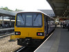 144 008 <br /> <br /> Sheffield <br /> <br /> 5th July 2013 <br /> <br /> waiting to work 13.29 Sheffield - York via Pontefract Baghill