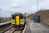 153 330 arrives on the 11.13am Cleethorpees to Sheffield service @ Gainsborough Central