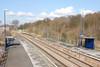 shot from the footbridge looking towards Barnetby