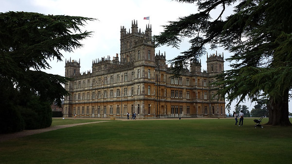 Welcome to Highclere Castle..