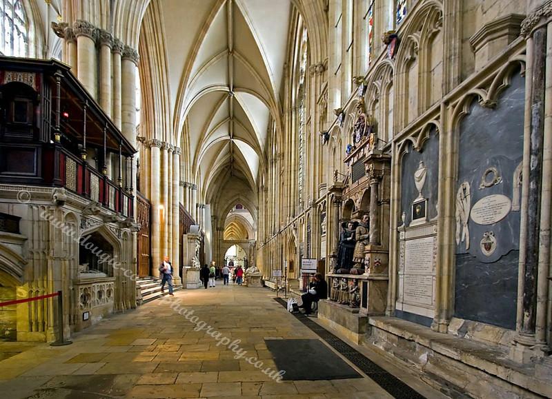 Corridor - York Minster