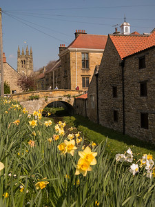 Helmsley town and Castle, N Yorkshire
