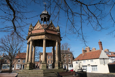 Boroughbridge Market Square, North Yorkshire