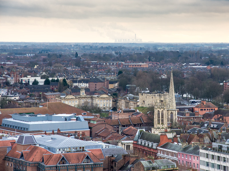 #York city and #Drax Power Station