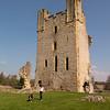 Helmsley town and Castle, N Yorkshir