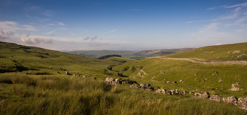 Valley on Pen-y-Ghent