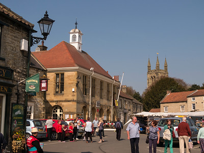 Helmsley town on market day, N Yorkshire