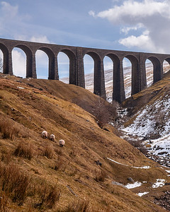 Arten Gill viaduct in the Yorkshire Dales