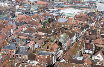 Historic York city centre