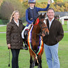 CSL 14 Talented showjumper winner 12 year old Lara Gorse riding Covenham Jade with Tina & Graham Fletcher