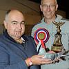 Supreme pigeon champs (L-R) John Wheatcroft & Clive Edson