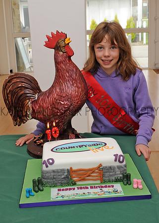 CSL 12 Birthday competion winner Amy Wilkinson