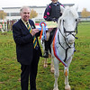 CSL 12 Jnr Novice winner 14 year old Lucy Gilsenan on Maddy from Staintondale, Scarborough