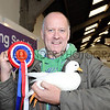 CSL12 Graham Hodge from Chorley with his female WHite Call DUck