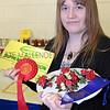 CSL 12 Honey Blue Ribbon winner 16 year old Catherine Cooper from Pontefract