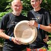 GYS 14_210_Pole climbing champ Daniel Whelan & grandfather George Tipping