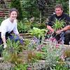 GYS 2012 UK Skills showcasr garden  Tasha Prosser and Jody Lidguard.