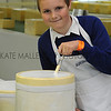 GYS 2012 11 year old Steven Shepherd from Athelstan Community Primary School judging cheese classes.
