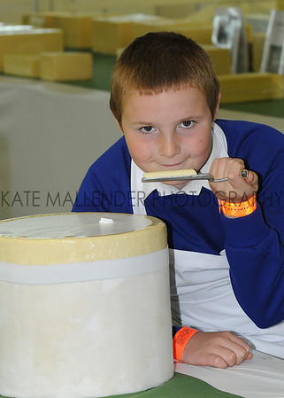 GYS 2012 11 year old Steven Shepherd judging cheese