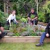 GYS 2012 UK Skills showcasr garden (l-r) Darren Thompson, Tasha Prosser, Jody Lidguard & Harry Turner