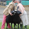 GYS 2012  sheep exhibitors marry at GYork Show Anne & Kevin Robinson.