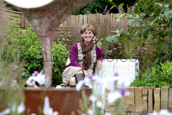 gys 2012 Tuesday: Lizzie Tulip whose landscape garden scooped the top award at this years show.<br /> pic: Doug Jackson