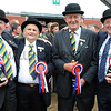 GYS 2012 Cattle Stewards clock up 216 years service Harold Brown, Michael Warren, David Sherry & George Westgarth