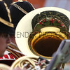 Great Yorkshire Show 2012: Yorkshire regimental band in the main ring.<br /> pic: Doug Jackson