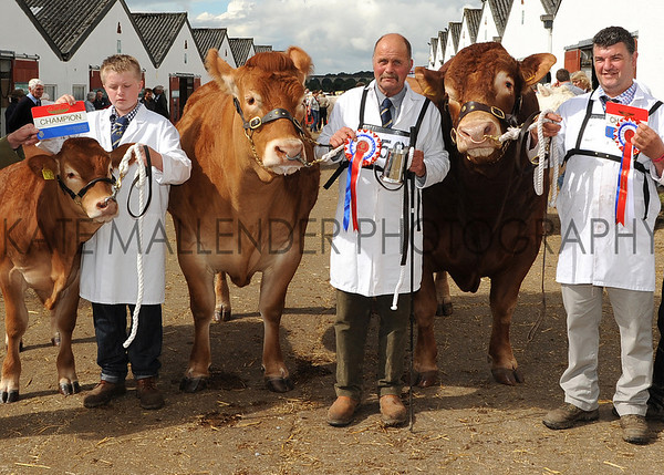 GYS 2012 Blythwood Continental Pairs L-R Andrew Nimmo, John Wlson with Springsett & Dougie McBeth with Hafodlas Domino owned by WJ&M Mash