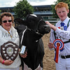 GYS 2012 Champion Dairy Young Handler 19 year old Bob Lawrence presented by Elaine Butterfield.