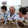 GYS 2012 Wednesday: Competitions continue between the beef stalls. Mid-downpour.<br /> pic: doug jackson