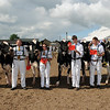 GYS 2012 Interbreed Dairy Group champs (L-R) Holstein UK PresidentJimmy HUll, Robert Butterfield with Ards Duplex O Ruth, Elaine Butterfield with Saxelby Goldwyn Rose, Ross Murray witrh Riverdane Newz Sara, Tom Lomas with Riverdane LPT Molly & Lizzie Miles with Littlebridge Shottle Honey 2