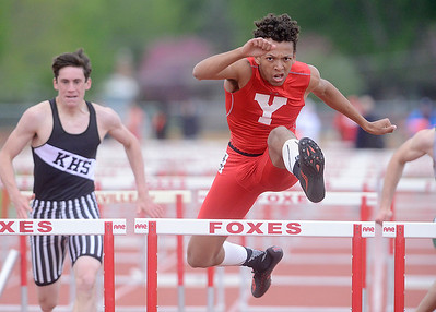 Yorkville Boys track and field - May 11, 2018