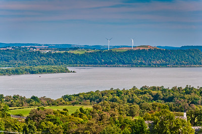 View of Susquehanna River from High Point Scenic Vista and Recreation Area, York County PA