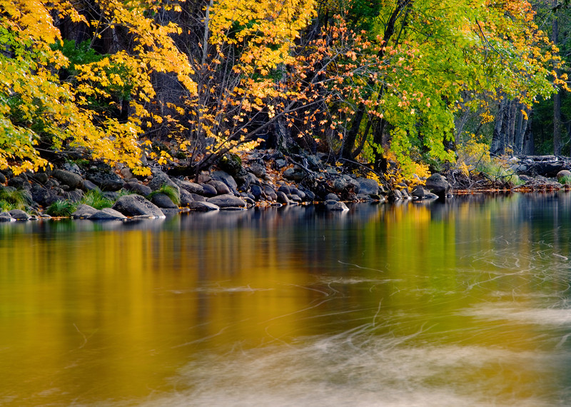 merced river in late october