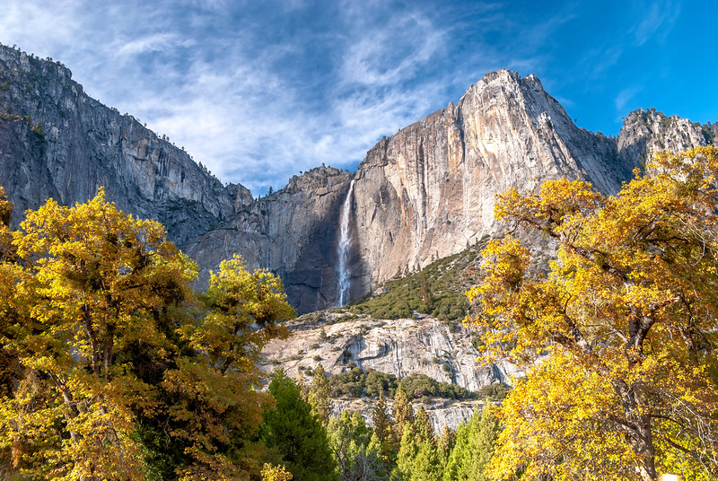 Upper Yosemite Fall, Autumn