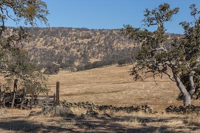 Roadside scene approximately half way between Napa and Yosemite.  CA Highway 4 outside Copperopolis, Calaveras County, California.