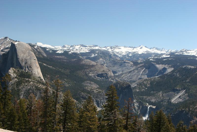Half Dome & Nevada Falls