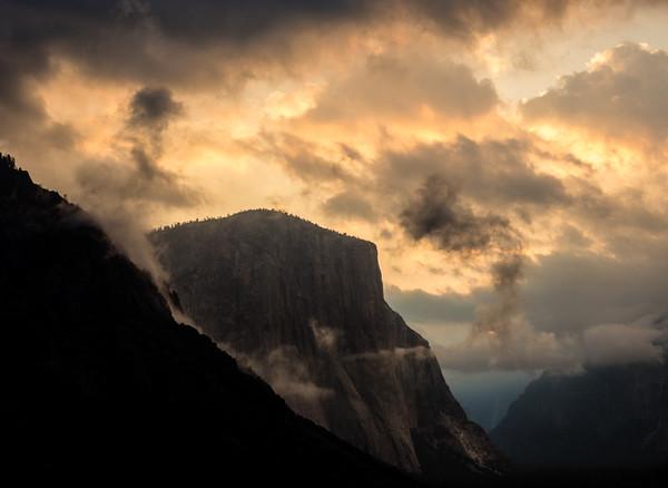 Tunnel View, El Capitan