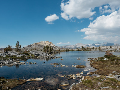 Those alpine lakes