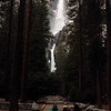 Upper, Middle and Lower Yosemite Falls