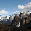 Halfdome and Bridal Vial Falls