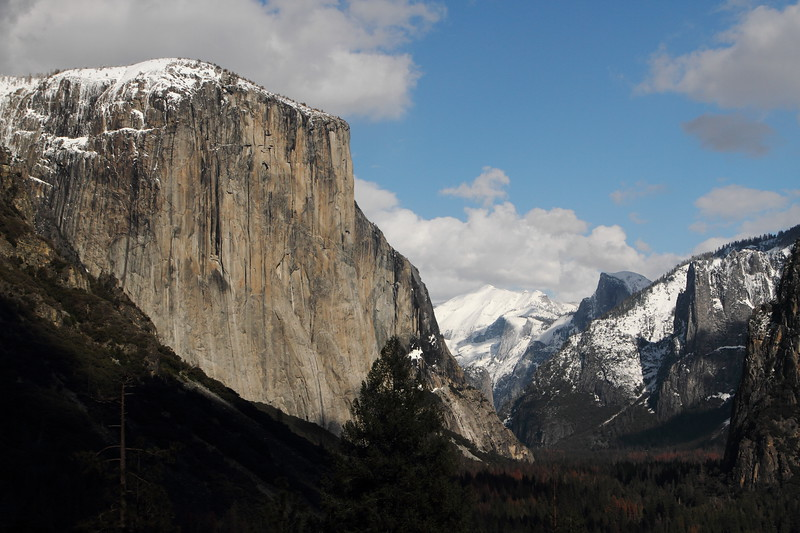 Halfdome and El Capitan