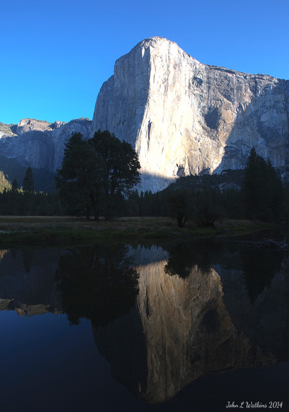 The Sun Rises on El Capitan
