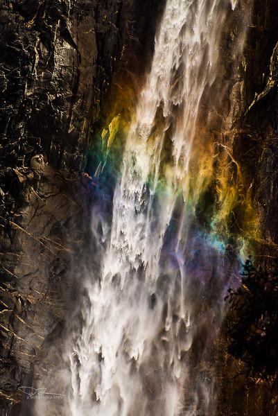 Bridalvail Falls Rainbow