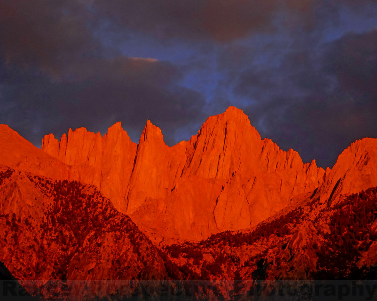 First Light on Mount Whitney