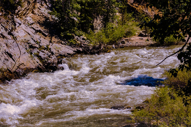 The Walker River at Leavitts Meadow Campground