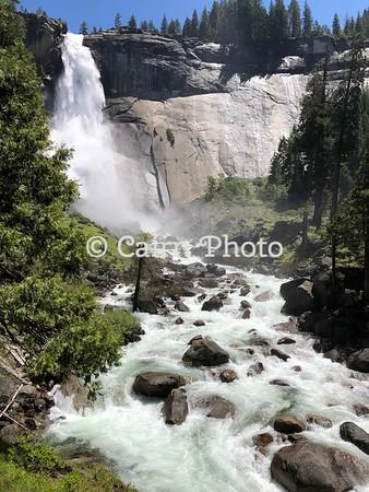 Below Nevada Falls