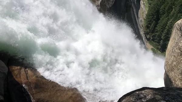Nevada Falls slow-motion video